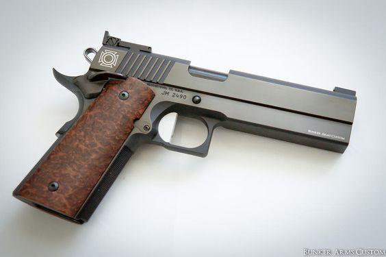 Bunker Arms Custom 1911 & Custom 1911 grips