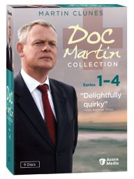 Quirky BBC series with Martin Clunes as a small down doctor who can't stand the sight of blood.
