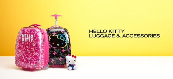 Hello Kitty Luggage & Accessories - http://tieasy.net/hello-kitty-luggage-accessories/