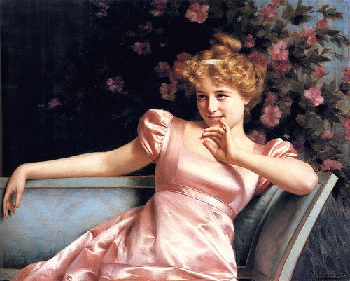 Vittorio Reggianini (Italian,1858-1938) | A young beauty | Regina Mendonca | Flickr