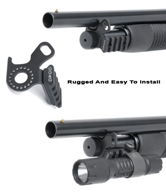 Mossberg 500 Sling And Flashlight Combo Mount
