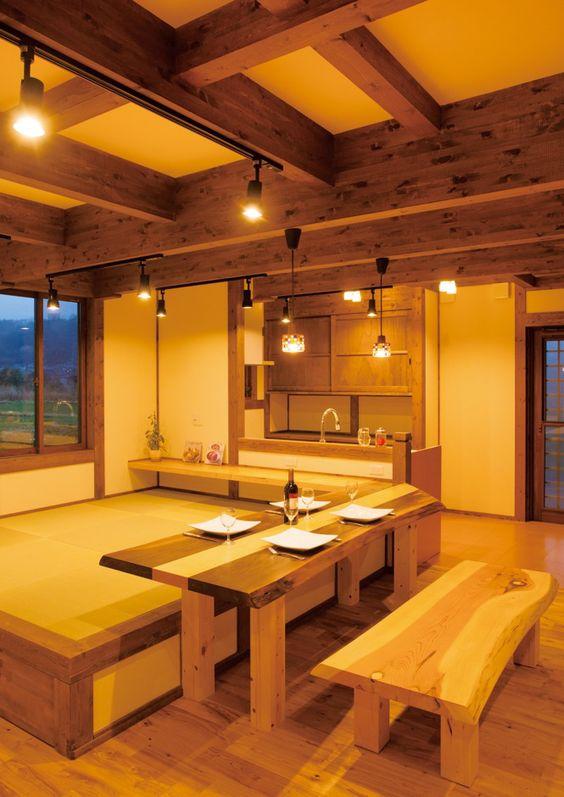 家族の笑顔と絆を育む 畳ダイニングのある木の家 | サイエンスホームの新築施工例【イエタテ】