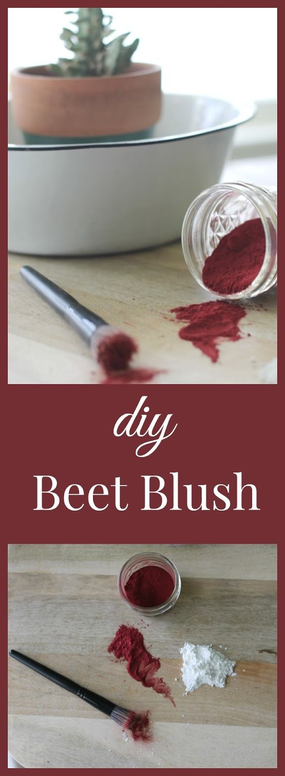 Diy Beet Blush Homemade Blush Zero Waste Diy Natural Products