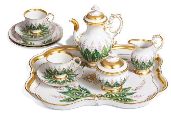 maiglöckchen malen - Google otsing Luxus aus Meissen: Die Porzellan-Manufaktur ist 300 Jahre alt - Bilder & Fotos - DIE WELT