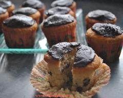 Cupcakes au pépites de chocolat