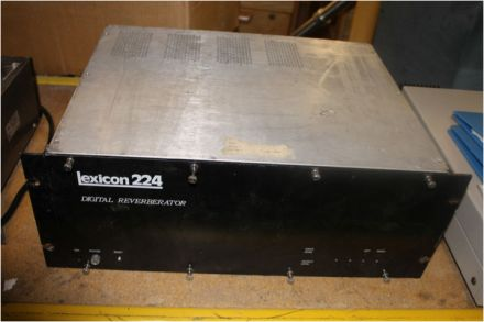 LEXICON 224 DIGITAL REVERB REVERBERATOR