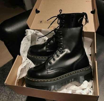 Fashion Grunge Tumblr Doc Martens 40 Ideas Boots Cute Shoes Stiletto Boots