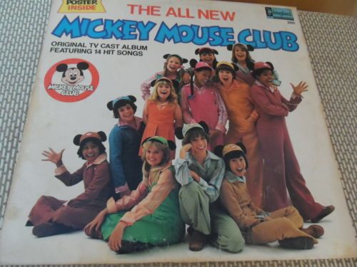 The All New Mickey Mouse Club 1976 Vinyl Record | eBay