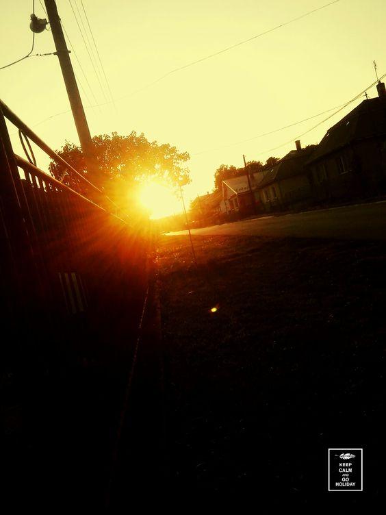 Západ slnka 💜💜