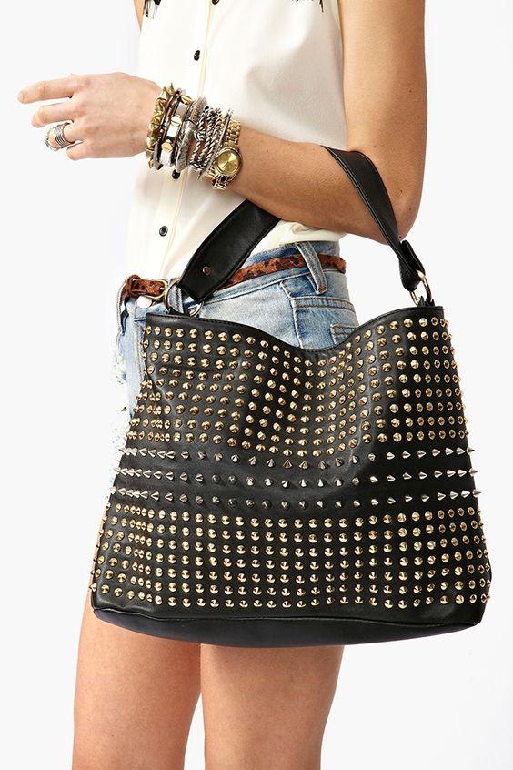 Totally Studded Bag