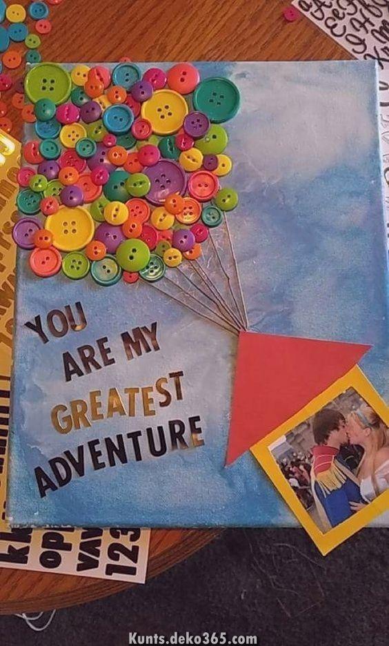 Geburtstagsgeschenke Und Ideen Pro Sie Schraubenmutter Nullipara Ehemann Design Magazin Diy Geschenke Freund Diy Geschenke Diy Geschenke Liebe