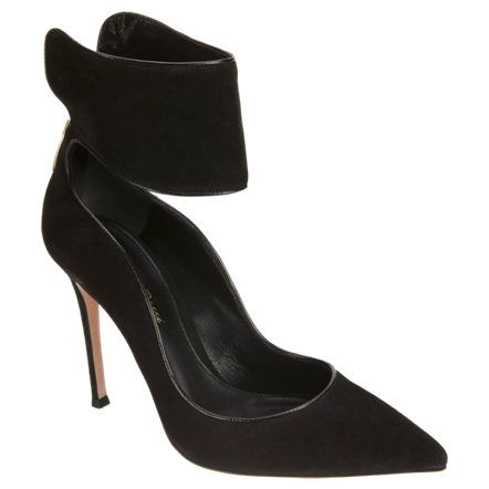 Gianvito Rossi Ankle Wrap Pump at Barneys.com