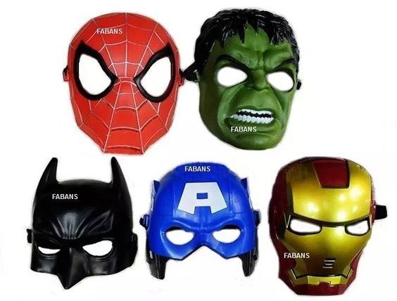Juguete Mascara Vengadores Avengers Hulk Capitan Iron Spider - Bs. 3.689,00 en…