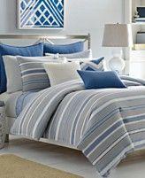 Nautica Sedgemoor Comforter and Duvet Cover Mini Sets