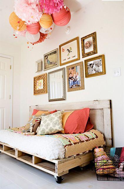Nos decoramos: Palets en tu dormitorio