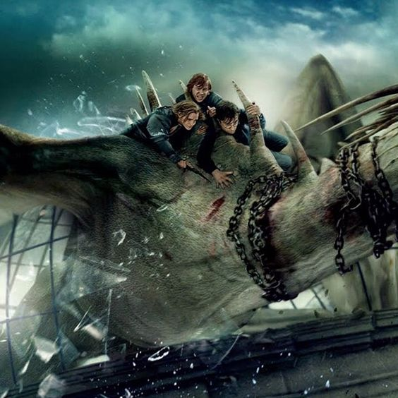 Love this pic from Deathly Hallows P2