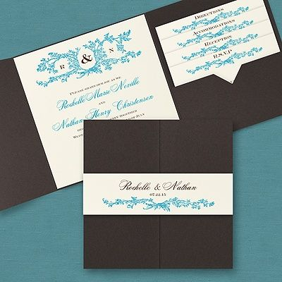 Natures Spirit Pocket Wedding Invitations The Office GaL A spirit – Blank Pocket Wedding Invitations