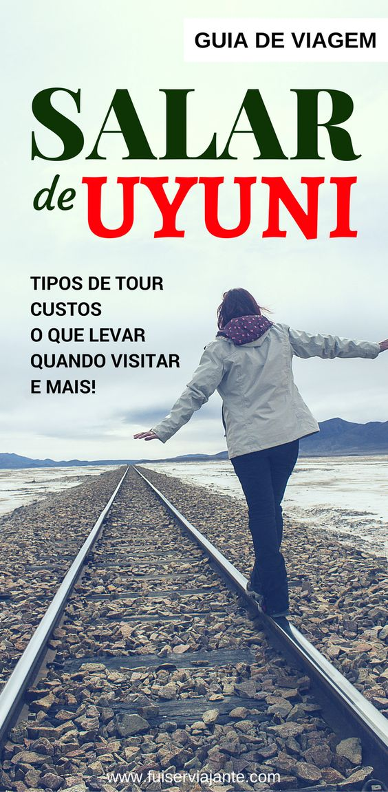 Salar de Uyuni - planejamento de viagem