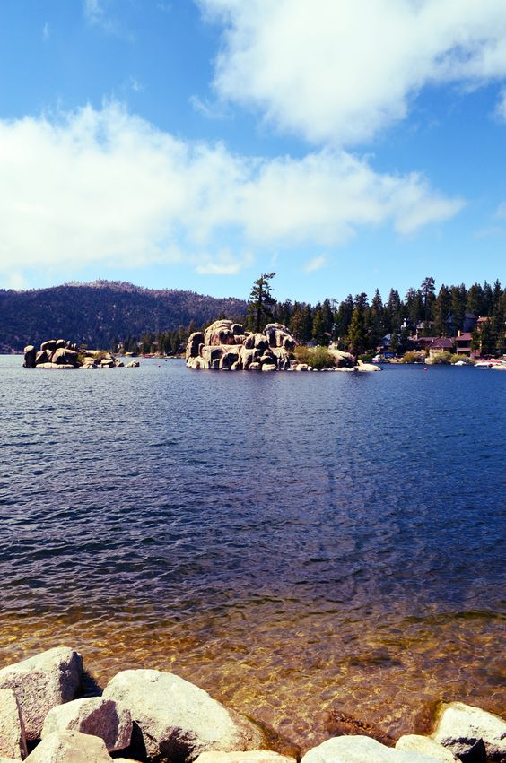 Boulder bay is breath taking any time of the year big for Cabins big bear lake ca