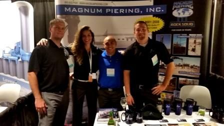 What a fun show DFI puts on, this was in Atlanta, GA in 2014 at the 39th Annual.  From left: BJ Dwyer, VP of Sales, Krista Deese, Marketing, Lito Santos, Central Sales Manager, Matthew Houliston, Eastern Sales Manager.