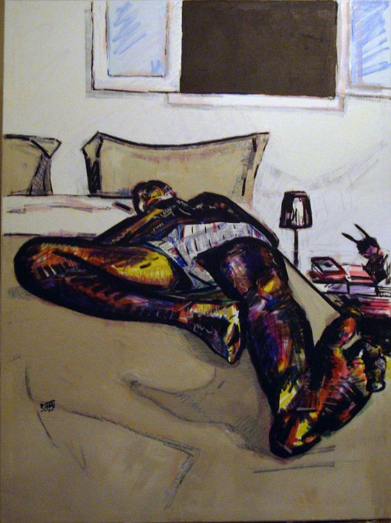 sleeping husband by ayaelfallah