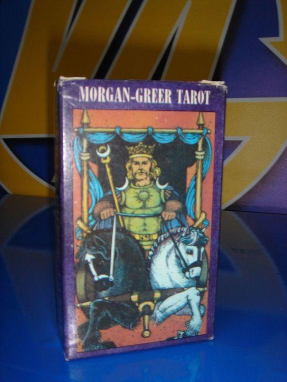 Cartas el tarot descatalogadas MORGAN-GREER TAROT nuevo