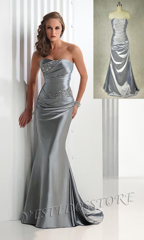 Vestido De Fiesta Baratos Ebay Evening Dresses Satin Evening Dresses Elegant Prom Dresses