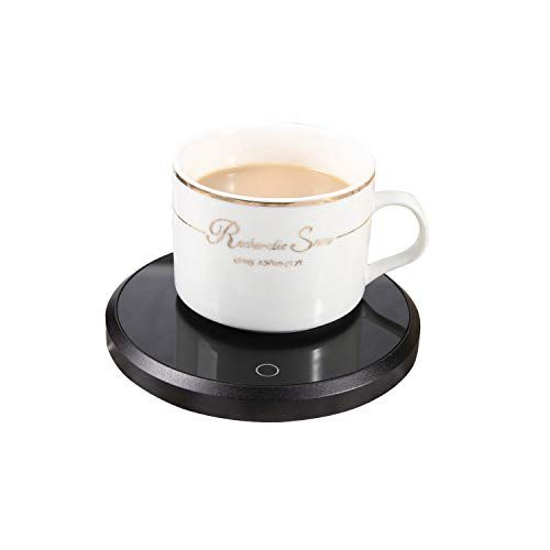 Red Coffee Mug Warmer LOOKISS Candle Warmer Electric Beverage /& Tea Cup Warmer Plate for Desk//Office//Home Use Best Gift Idea Cup Warmer
