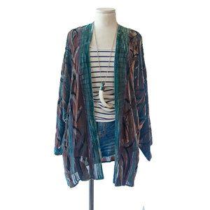 '90s Velvet Kimono Jacket now featured on Fab.