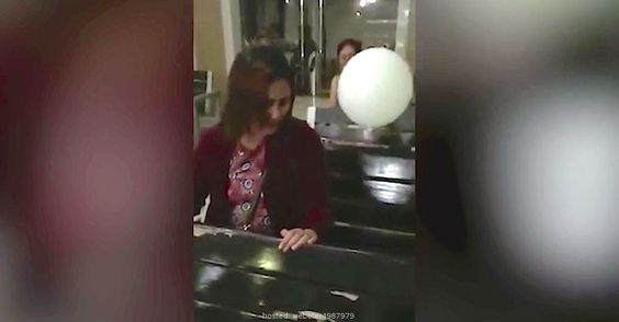 Mom Cries At Her Sons Funeral, Now Watch The White Balloon. Unbelievable