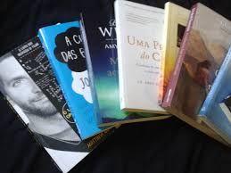 Coleção de livros romanticos