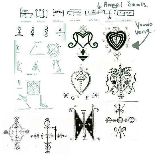 Voodoo Religion Symbols