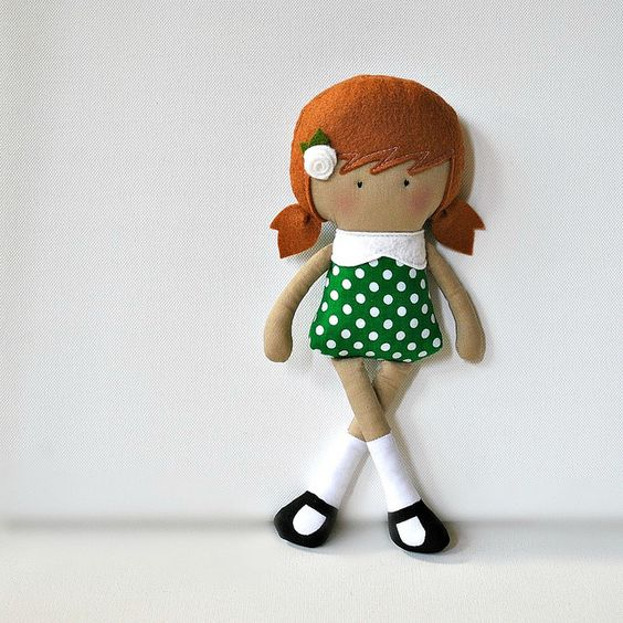 My Teeny-Tiny Doll™ Danni by Cook You Some Noodles, via Flickr