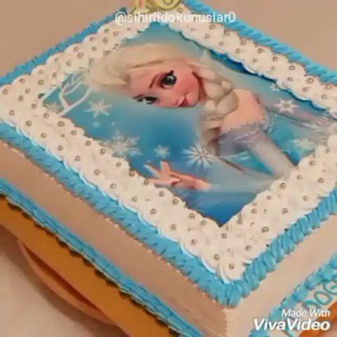 Herkese Merhabalar Arkadaslar Elsa Gofret Baskisini Pasta Malzemeleri Satan Yerlerden Cikarttirabilirsiniz Kenar Suslemelerde 821 Nolu