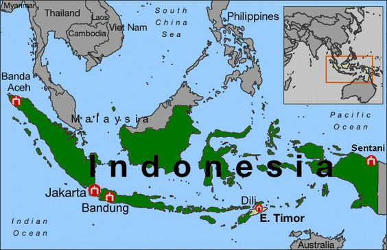 Political Map of Indonesia Indonesia World Geography Project - geographic preference