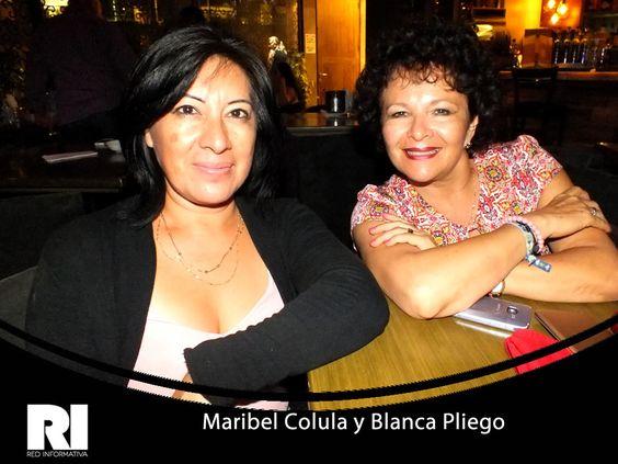 Maribel Colula y Blanca Pliego