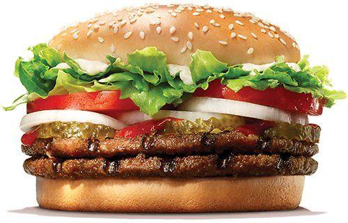 3 Burger King Double Whopper Or Chicken Sandwich Burger King Dealsplus Burger Burger King Chicken Sandwich