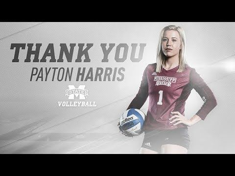Mississippi State Volleyball Payton Harris Senior Tribute Youtube Mississippi State Mississippi Volleyball