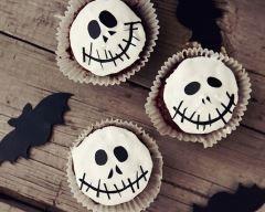 Cupcakes au chocolat jack skellington  Ingrédients