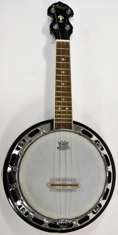 JHS john Hornby Skewes vintage pilgrim banjolele banjo at ukulele corner