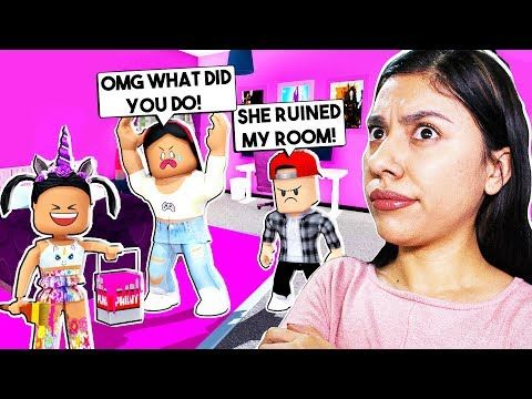 I Caught My Daughter Pranking Her Little Brother Roblox Roleplay Bloxburg Youtube Roblox Roleplay Roblox Memes
