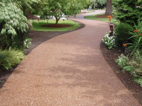 FilterPave® Porous Pavement -  Our back yard is so tiny, I think it might be best to just pave it all.  This product looks like an interesting option- recycled glass gives some sparkle, plus it's permeable so hopefully no water puddling after a rain storm.