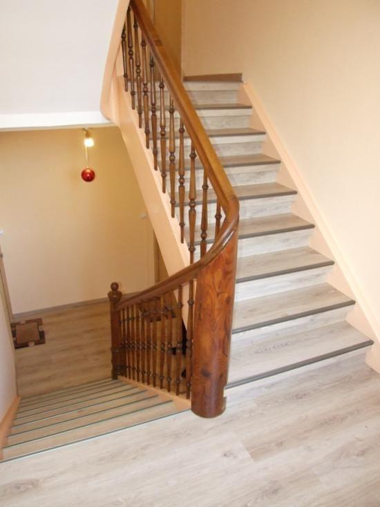 Restauration D Escalier Bois Dans Un Immeuble De Saint Louis 68300