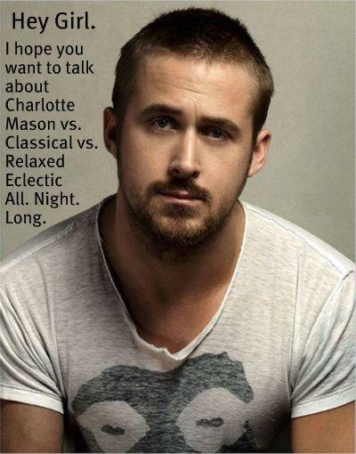 » Homeschool Ryan Gosling Meme---too funny! It's even funnier that he was ACTUALLY homeschooled. ;):