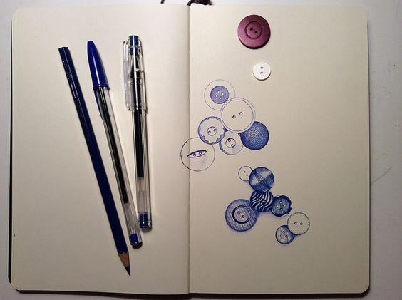 Sketchbook Skool 2 / Week five / © Andrea Foenander