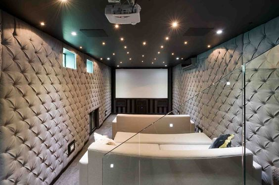 Sound Proof Home Cinema Room Basement Home Cinema