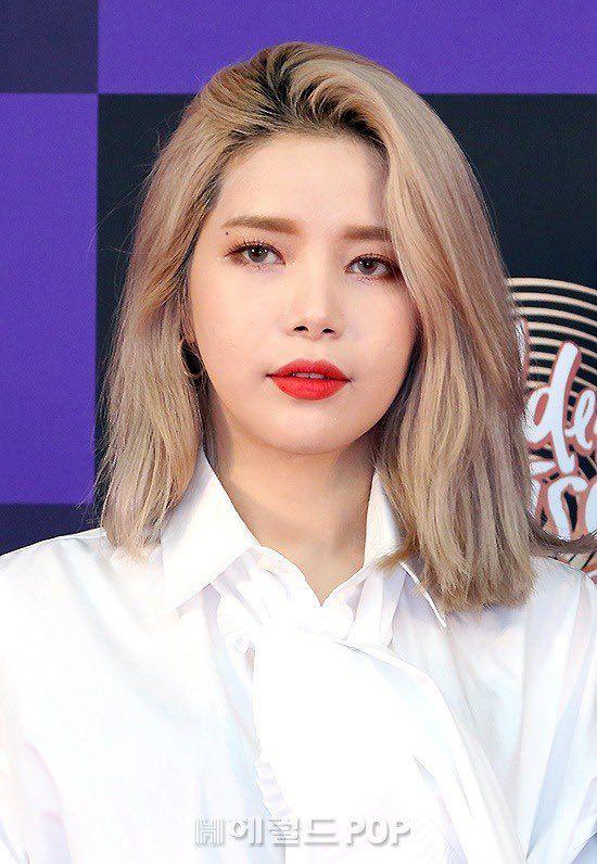 Mamamoo Pics On Twitter Mamamoo Medium Hair Styles Heart Shaped Face Hairstyles
