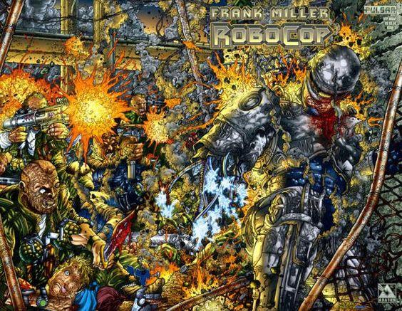 RoboCop, Frank Miller, Juan Jose Ryp