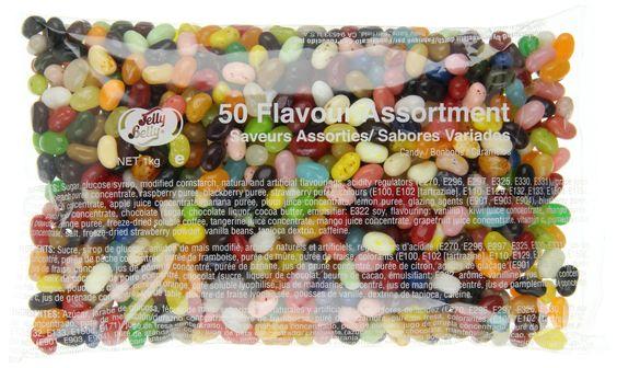 Jelly Belly - Sac vrac de 50 parfums assortis (1kg): Amazon.fr: Hygiène et Soins du corps