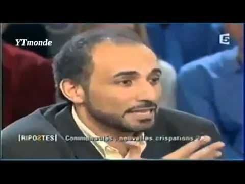 Tariq RAMADAN le seul intellectuel qui sait comment faire taire les Sion...